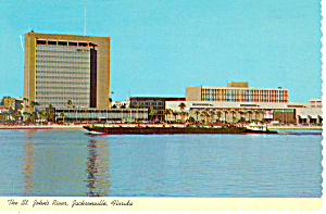 St John s River Jacksonville Florida Postcard cs2517 (Image1)