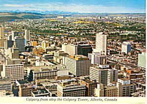 Calgary Alberta Canada Postcard cs2527 (Image1)