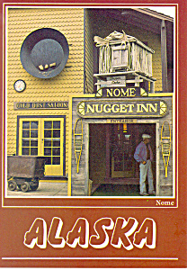 The Nugget Inn Nome Alaska Postcard cs2539 (Image1)