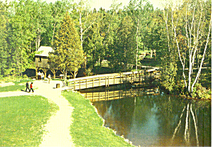 Old Mill Pond.Old Mill Creek,Mackinaw City,MI  (Image1)