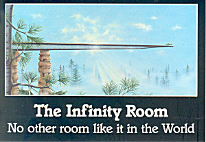The Infinity Room Spring Green Wisconsin Postcard Cs2558