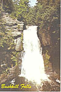 Bushkill Falls Pennsylvania Postcard cs2571 (Image1)