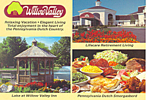 Willow Valley Lancaster, Pennsylvania Postcard (Image1)