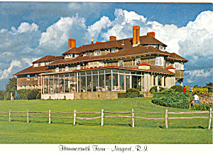 Hammersmith Farm Newport Rhode Island Postcard cs2582 (Image1)