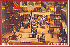 The Bourse Independence Square East Philadelphia PA Postcard cs2587 (Image1)