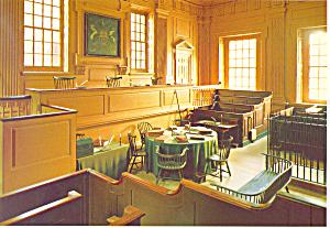Pennsylvania Supreme Court Chamber Postcard cs2588 (Image1)