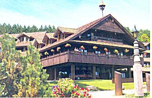 Trapp Family Lodge Stowe Vermont Postcard cs2643 (Image1)