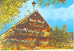 Original Trapp Family Lodge Stowe Vermont Postcard cs2644 (Image1)