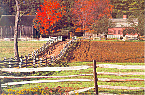 Pliny Freeman Farm,Old Sturbridge Village,MA (Image1)