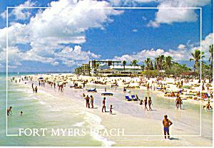 Fort Myers Beach Florida Beach Scene cs2675 (Image1)
