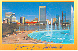 Jacksonville Florida Friendship Fountain Cs2678
