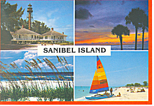 Sanibel Island Florida Four Views Cs2681