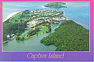 Captiva Island Florida Aerial View Cs2683