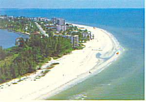 Fort Myers Beach Florida Aerial View Cs2688