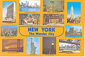 New York City New York 12 Views of The Wonder City cs2697 (Image1)