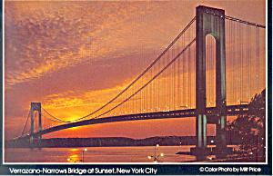 Verrazano Narrows Bridge New York City cs2710 (Image1)