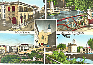 Souvenir de Perpignan Five Views (Image1)