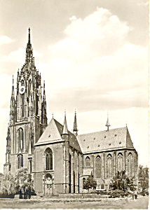 Frankfurt am Main, Germany, The Cathedral RPPC (Image1)