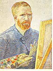 Vincent van Gogh Portrait de l artiste Postcard cs2844 (Image1)