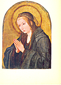 Quentin Massys Virgin in Adoration Postcard (Image1)