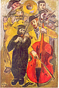 Manne Katz The Musicians Postcard cs2855 (Image1)