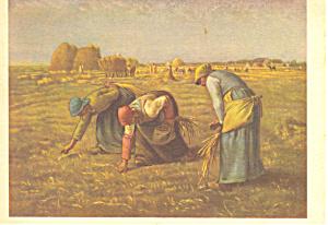 Jean Francois Miliet Les Glaneuses Postcard (Image1)