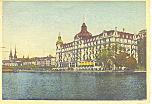 Palace Hotel Lucerne Switzerland Cs2892