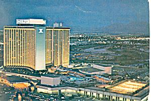 Las Vegas Hilton,Nevada Postcard cs2898 (Image1)