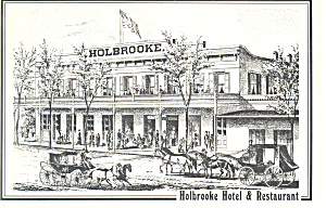 Holbrooke Hotel and Restaurant Postcard cs2943 (Image1)