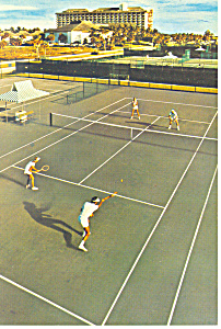 Tennis Courts at Marco Beach Hotel and Villas cs2945 (Image1)