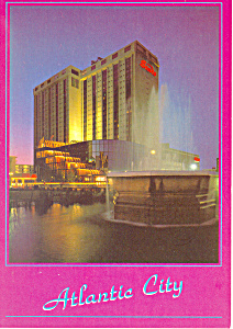 Sand s Hotel and Casino Atlantic New Jersey Postcard cs2952 (Image1)