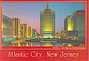 Park Place Atlantic New Jersey Postcard cs2953 (Image1)