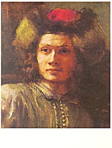 The Polish Rider Rembrandt Harmenzs Rijn Postcard cs2957 (Image1)