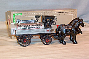 Ertl Texaco Horse & Tanker Coin Bank Mib