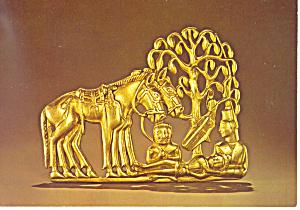 Resting Warrior Lands of the Scythian Postcard cs2973 (Image1)