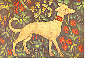 French Tapestry  XV Century Postcard cs2982 (Image1)