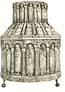 Tower Reliquary, Bone German early 13th Century (Image1)