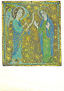 The Annunciation Plaque of Champleve Enamel (Image1)