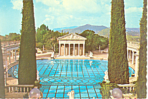 Hearst Castle Pool San Simon State Monument Cs3002