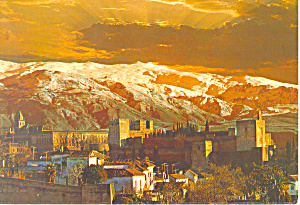 Granada Spain Postcard cs3048 (Image1)