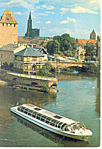 Strasburg Alsace  with Excursion Boat cs3053 (Image1)