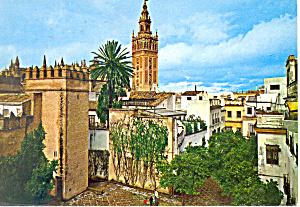 Quarter of Santa Cruz Sevilla Spain cs3091 (Image1)
