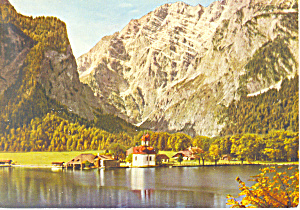 St Bartholoma am Konigsee, Germany (Image1)