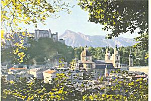 Hohensalzburg mit Altstadt,Austria (Image1)