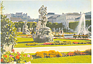 Salzburg Austria Mirabellgarten cs3124 (Image1)