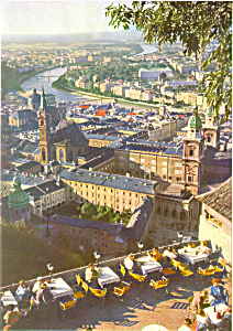 View of Mozartstadt from Hohensalzburg Austria cs3126 (Image1)