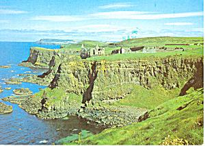 Dunluce Castle Co Antrim Northern Ireland Postcard cs3146 (Image1)