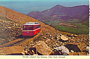 Cog Railway Pike Peaks Colorado cs3161 (Image1)