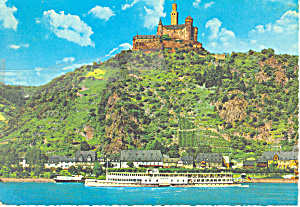 Marksburg Castle Germany Postcard cs3179 (Image1)
