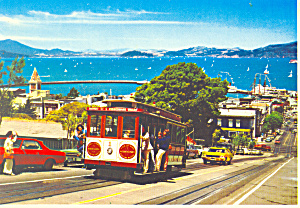 Hyde Street Cable Car San Francisco Ca Cs3259